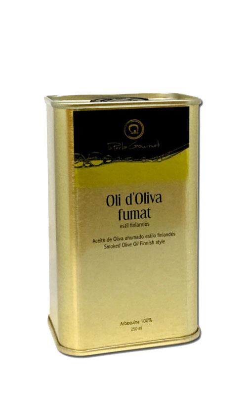 Aceite de oliva ahumado La Perla Gourmet 3