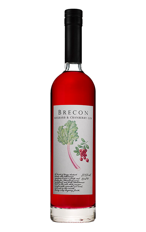 Brecon Rhubarb & Cranberry Gin 3