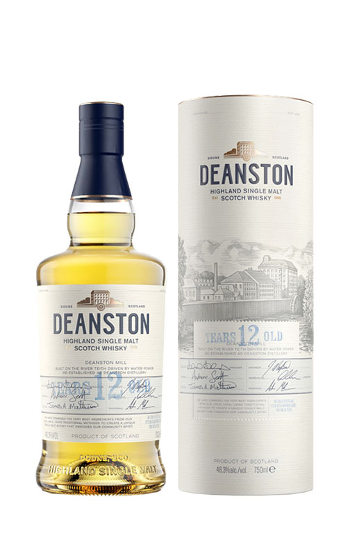 Deanston 12 Year Old Single Malt Scotch Whisky 3