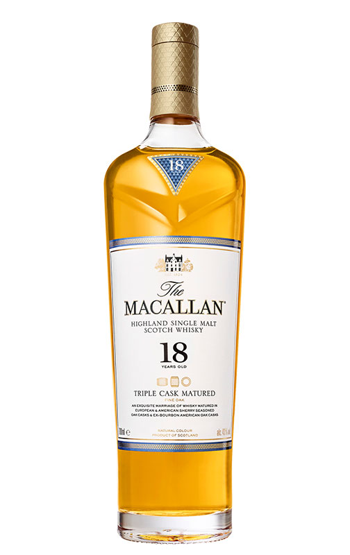 comprar whisky single malt marcas: The Macallan Triple Cask Matured 18 Years Old 3