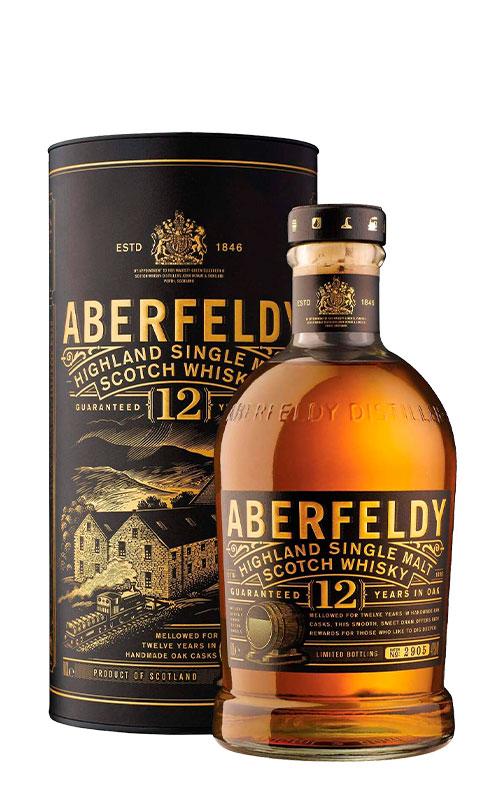 Whisky Aberfeldy 12 Year Old con Estuche 3